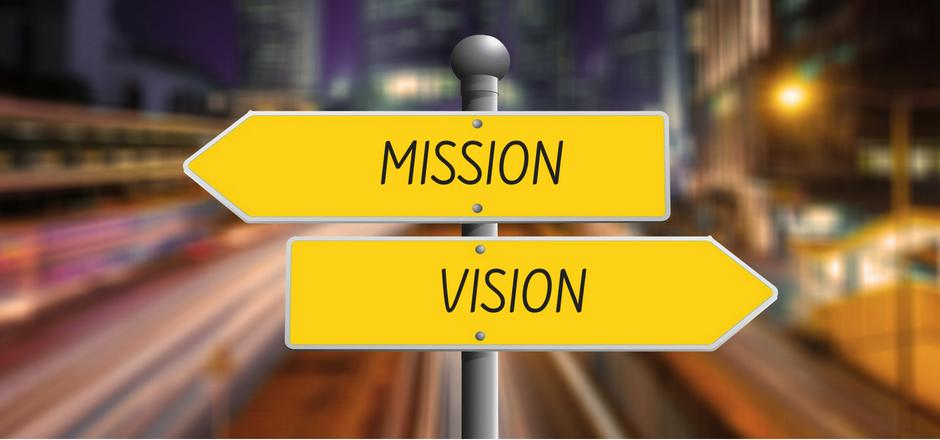 Cartelli stradali mission e vision
