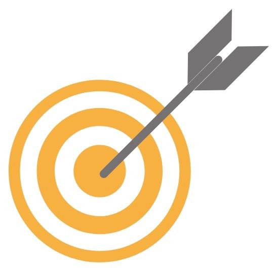 target con freccetta
