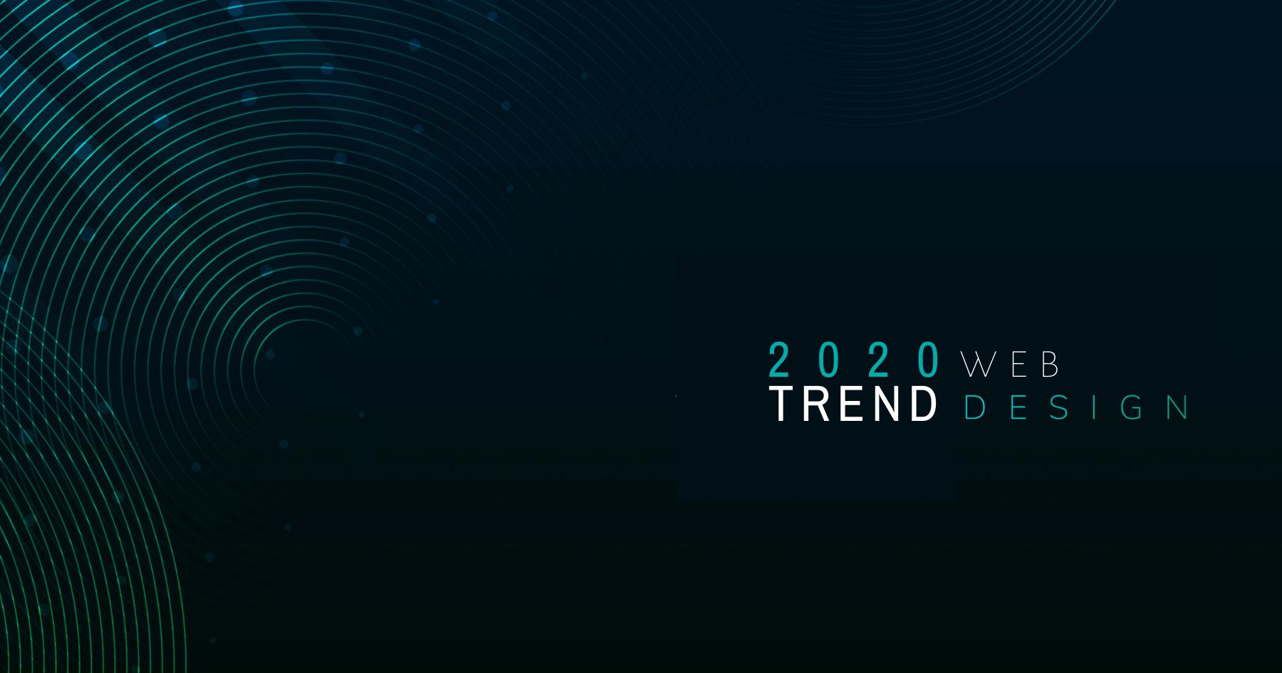 Trend del web design 2020